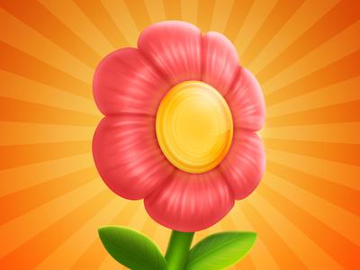 Run Flower iOS Icon