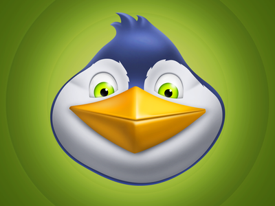 Penguin head for Match3 game penguin head icon game match