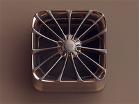 Chrome Wheel iOS icon