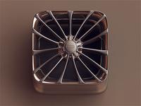 Chrome Wheel iOS icon