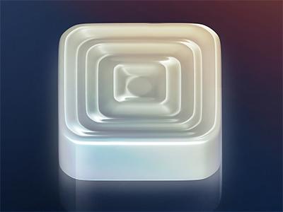 Simple Checkers icon icon checkers white glance