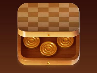 Checker Action iOS game icon