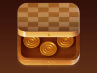 Checker Action iOS game icon