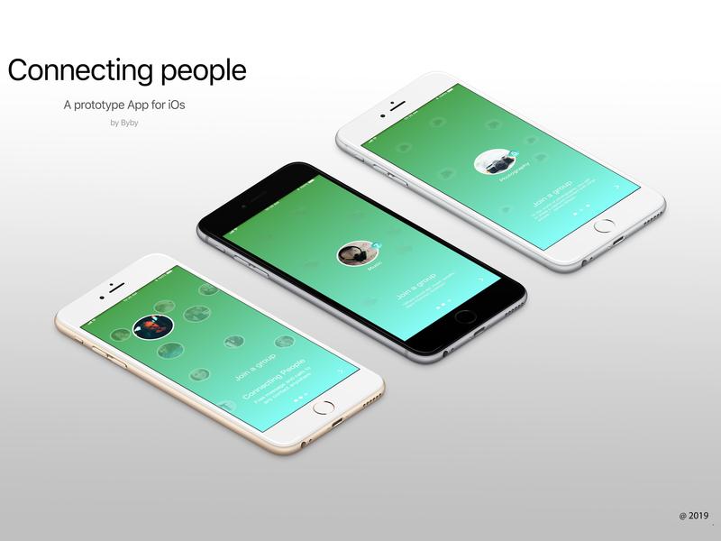 Photography & Music Social Networking App Concept mobile social network ui design app ios