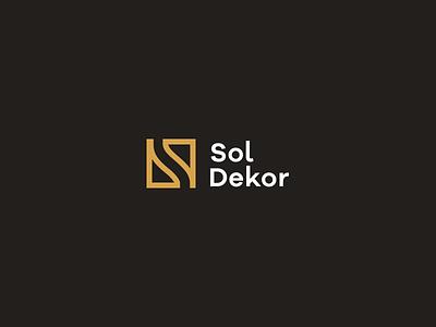 Sol Dekor Logo house office paint finish interior exterior design logotype logo