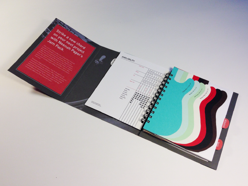 Neenah Paper Swatch Book - Production Design by Jordan Springstroh ...