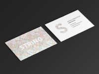 Self Branding scad business card design branding identity