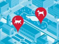 TIM Tag / Map / Cat & Dog