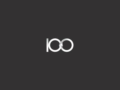 Logofolio | 100° brand identity brand vector branding minimal illustration graphic design logo handshake hands health care support people save help human rights anniversary centenary 100