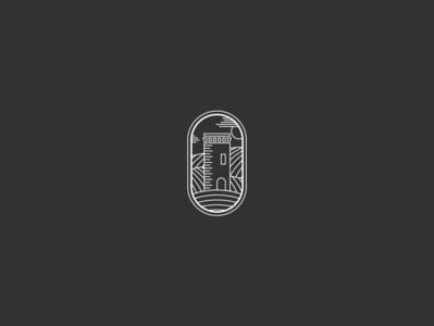 Logofolio | Torre di Grondona farm line engrave winery wine agriculture medieval castle tower brand identity brand logofolio logo icon branding vector minimal illustration graphic design
