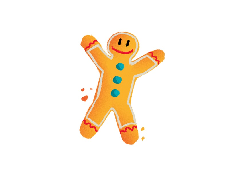 Save the Children | Christmas Jumper Day happy smile draw drawing donation children save the children gift santa claus jingle bells christmas party christmas tree christmas cookie biscuit gingy gingerbread gingerbread man packaging illustration