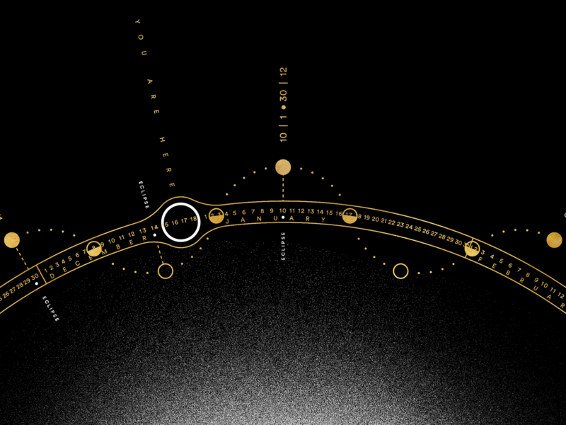 MOON 2020 | Calendar grain earth nasa black calendar space sun moon lunar eclipse isometric texture vector gold logo minimal poster illustration graphic design