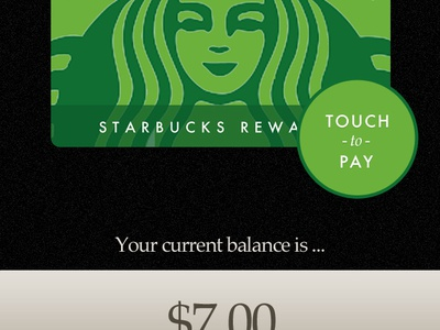 Starbucks for Android mobile ui design starbucks android