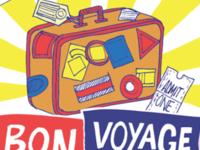 Bon Voyage illustration new york concept