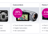 Technology Store Home Page Categories