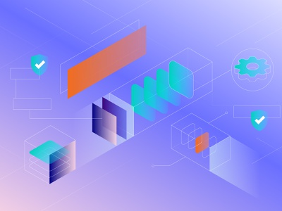 Container Security orange portugal green blue blog illustration cisco kubernetes internet security container portshift