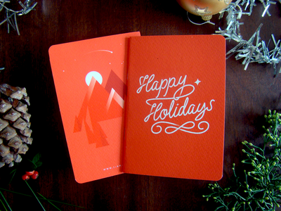 Notebook Holidays gift