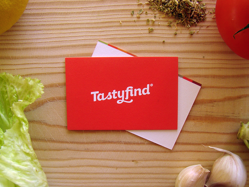 Tastyfind business cards
