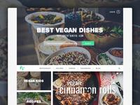 Best Vegan Dishes website