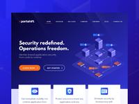Portshift Homepage
