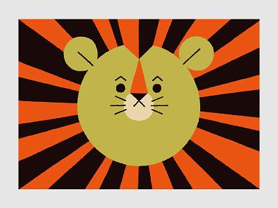 Circus (Lion) lion circus animals illustration