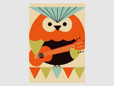 Circus (Owl) owl illustration circus animals