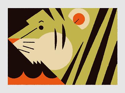 Circus (Tiger) tiger illustration circus animals