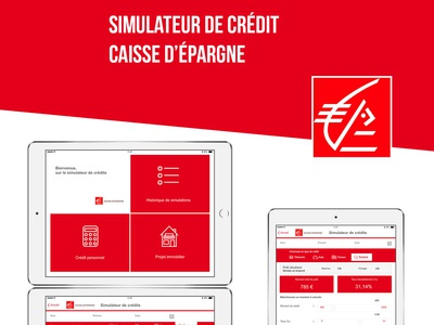 credit simulator for the banck Caisse d'épargne