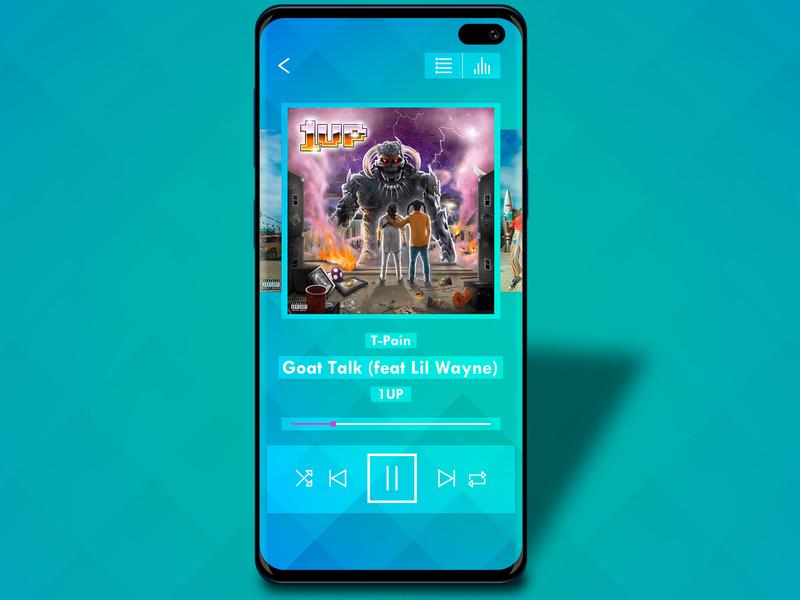 Daily UI Challenge 009 - Music player music music player music app ui design dailyui daily 100 challenge