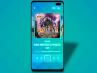 Daily UI Challenge 009 - Music player
