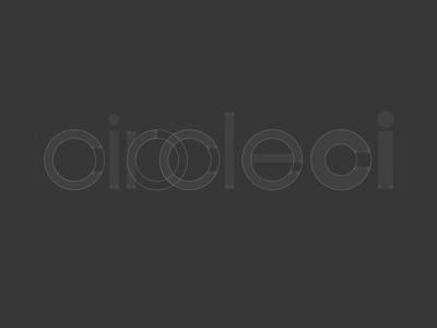 Circle Type Process logo process type typography circle circleci continuous integration