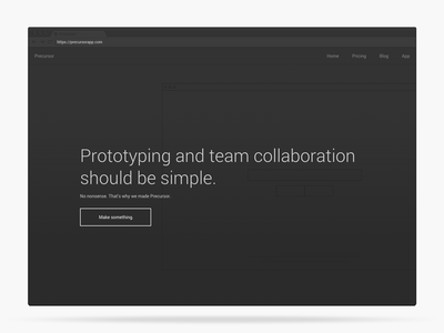 Desktop Design Display desktop app design lightweight prototyping chrome template landing page