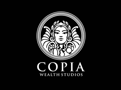 Copia logo animation brand identity bran 2d logo ae illustration motion character after effects loop gif animation
