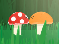 Fungus animation