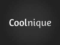Coolnique logo design