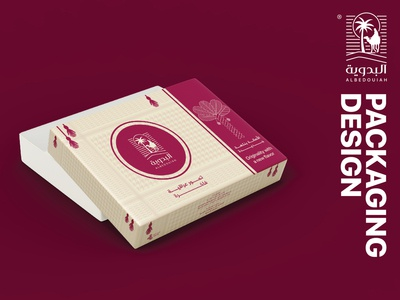 ALBEDOUIAH ll For dates products, packaging design. vector marketing mark brand identity graphic design logo design branding logos brand packaging product products package packagedesign packaging design package design packaging