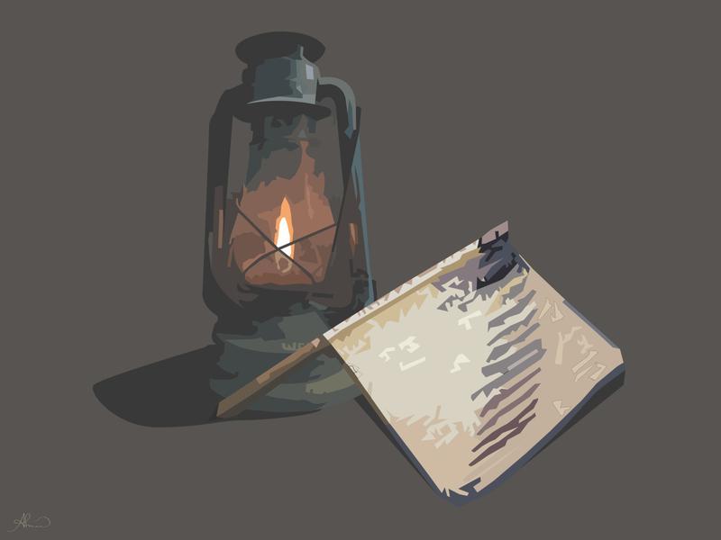 Antique .. identity antiques antique adobe illustrator lantern illustrations design vector art vector illustration vector illustration digital illustration design illustrator graphic design graphic illustration art illustration