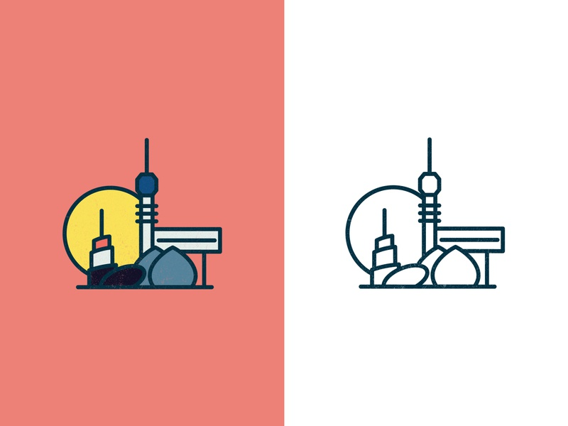 Baghdad landmarks graphics brand iraq poster design poster colors city illustration city outline logo design landmarks landmark baghdad design illustration logo vector illustrator graphic design graphic