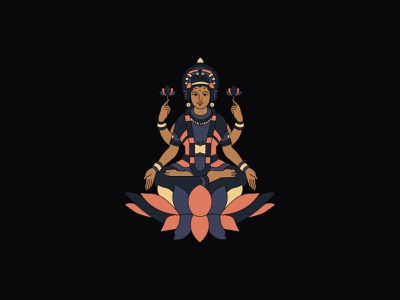 LUTCHY, a indian god. icon graphicdesign digitalart god indian digital art digital illustration vector design illustration behance illustrator graphic design graphic