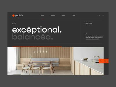 gaph.ōr splashpage web webpage animation webdesign website ui