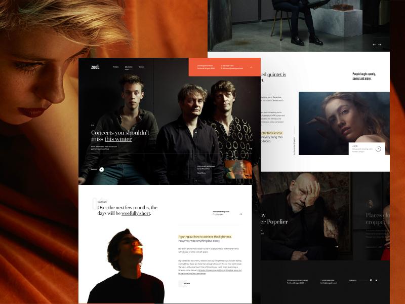 Z_oob landing simple ui web webdesign webpage website