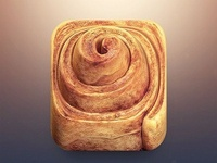 Cinnamon Roll Ios App Icon Design Compressed