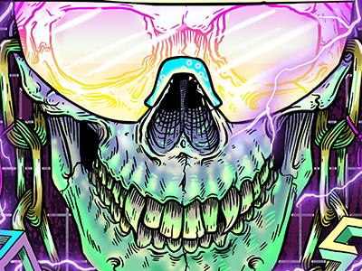 Thrashwolf Skull
