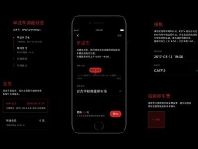Car Sharing App UI