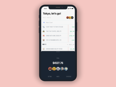 Expense Tracking App [Concept]
