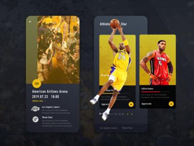 NBA-UIDesign