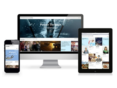 W+K Amsterdam Website flat design css3 ux mobile responsive design interactive design html5