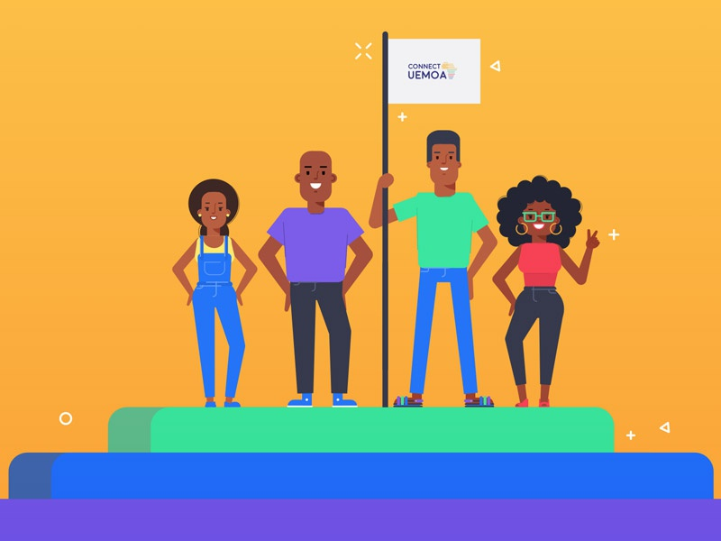 Connect Uemoa digitalproductdesigner motiondesigner e-commerce united nations datascientist growthhacker uidesigner uxdesigner designer design ux amsterdam