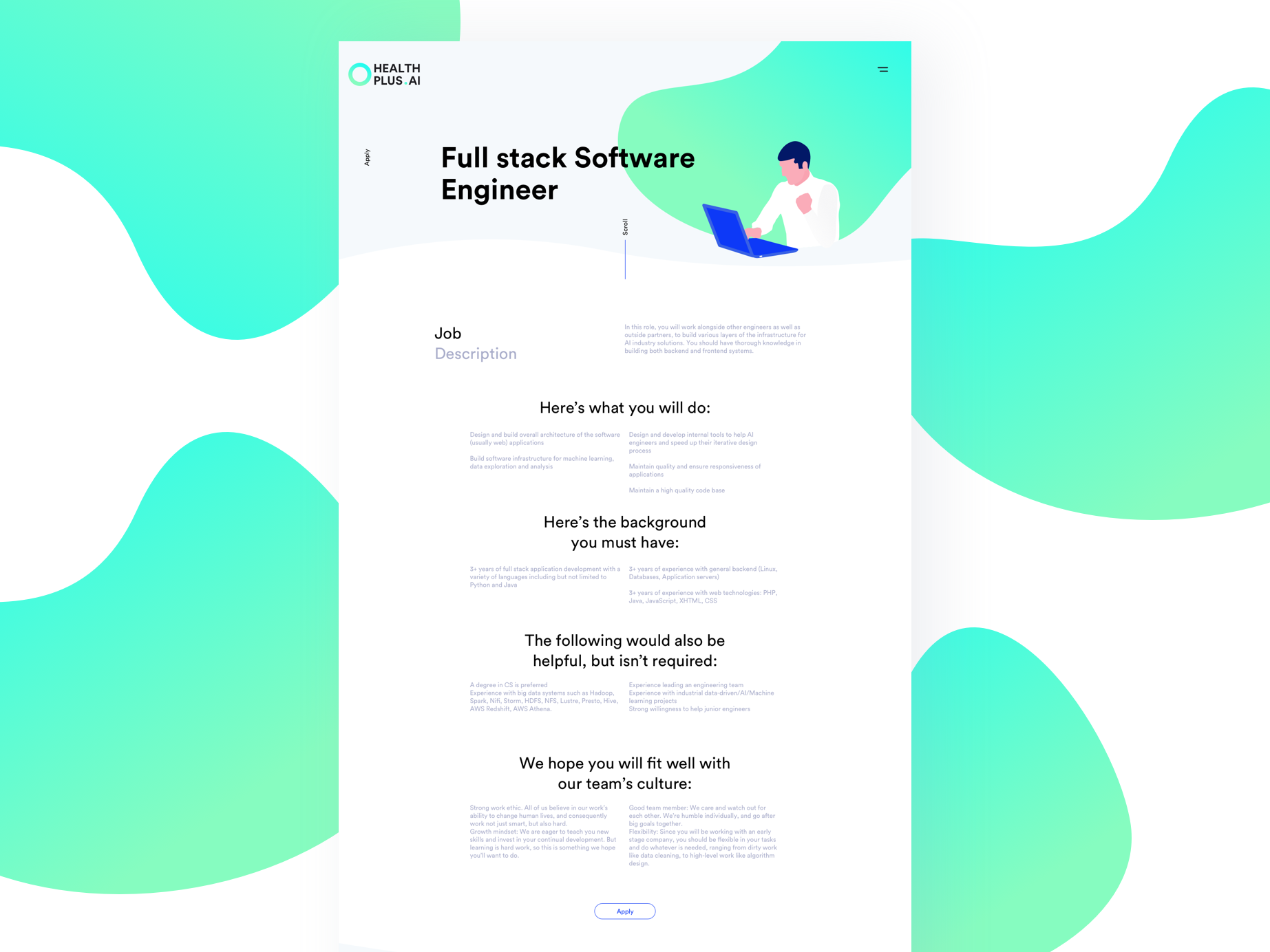 Dribbble - _jobs png by Little Nice Things