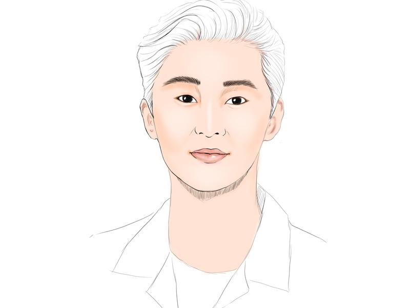 Park Seo Joon artsy arts manhwa manga kpop illustrations illustration art illustration drawingart artwork art 미술 그림 painting paint ilustration digital painting digital illustration digitalart design